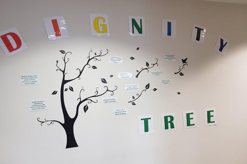 The Dignity Tree at Sanctuary Retirement Living's Lawley Bank Court