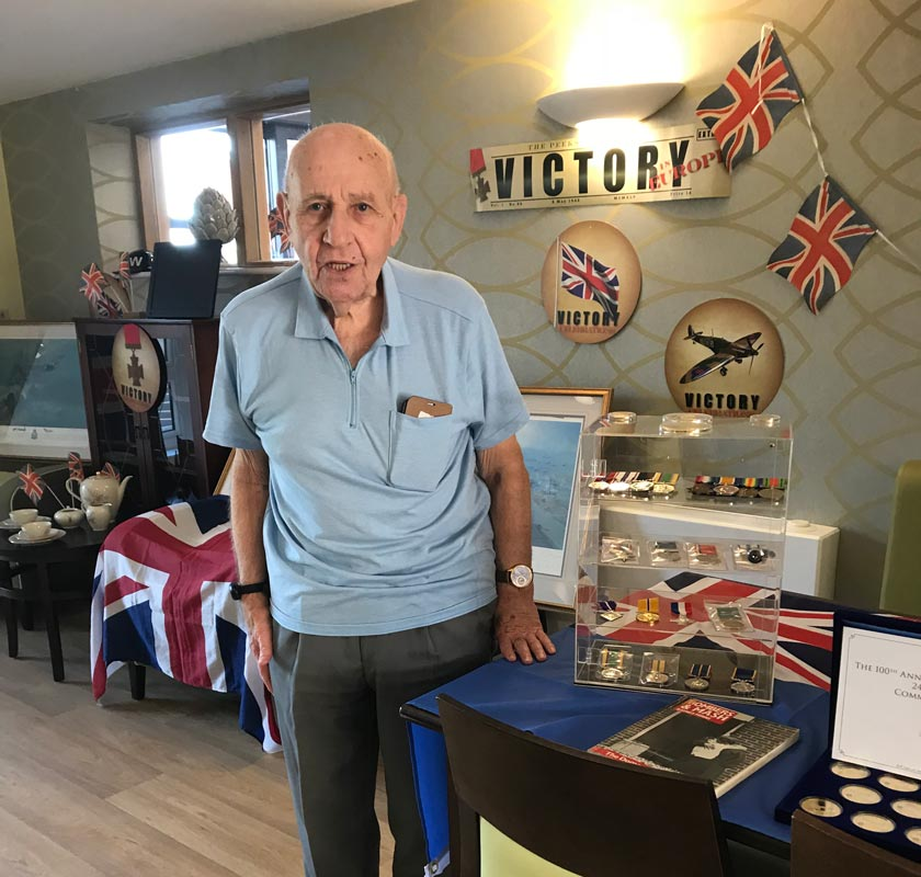 Bob Grimes on Remembrance Day 2019