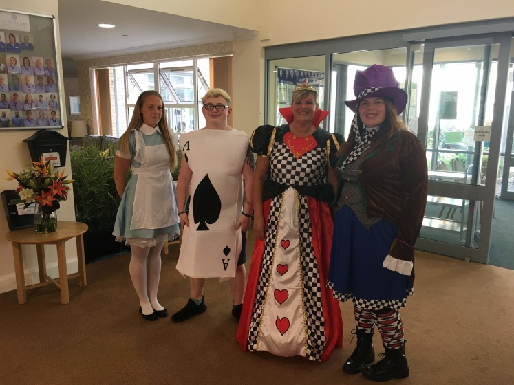 Mad Hatters Tea Party at Doddington Court