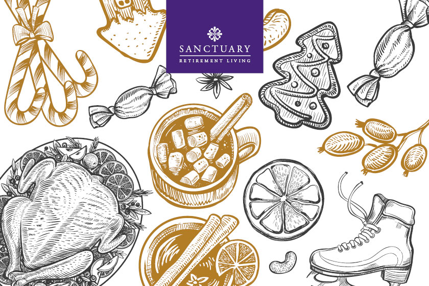 New festive menus at Sanctuary Retirement Living