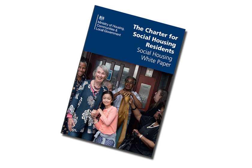 The Charter for Social Housing Residents - Social Housing White Paper front cover