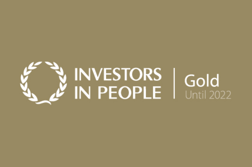 Investors in People Gold award logo