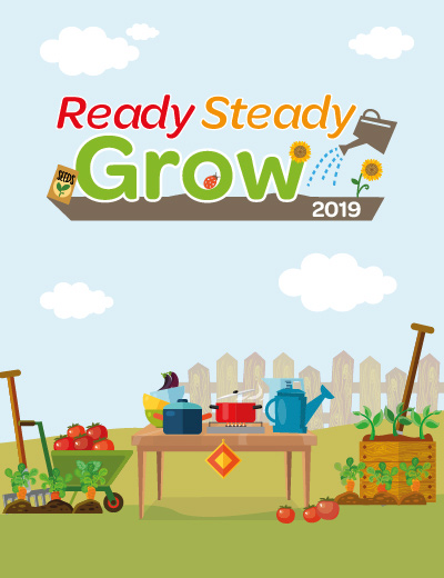 Ready Steady Grow - gardening competition