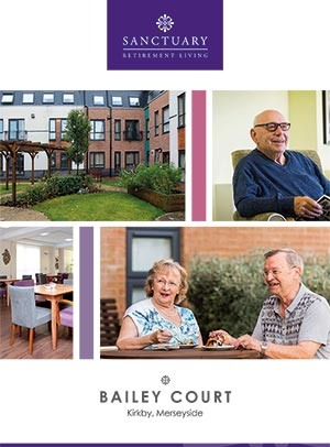 Front cover of Bailey Court brochure