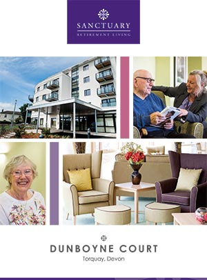 Front cover of Dunboyne Court brochure.