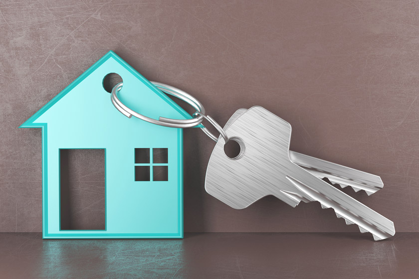 House and keys icon