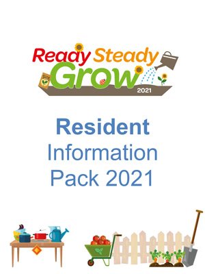 Front cover of the Resident Information Pack 2021