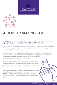 Staying safe publication front cover