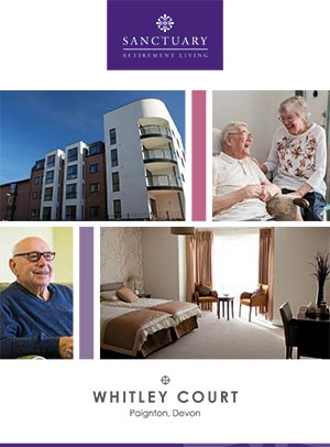 Front cover of Whitley Court brochure.