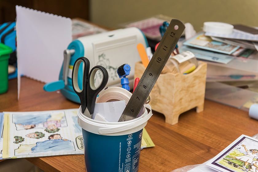 Craft making at Sanctuary Retirement Living's Wimborne House