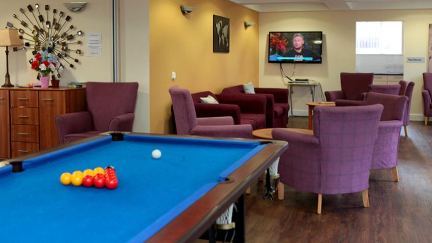 Bailey Court games room