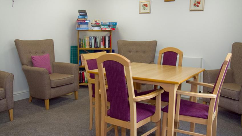 Baird Lodge open plan living area