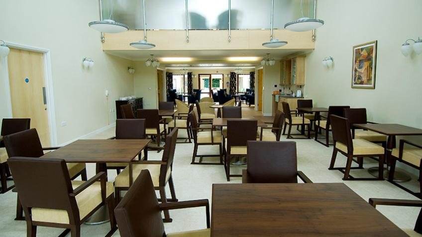 Exning Court dining area