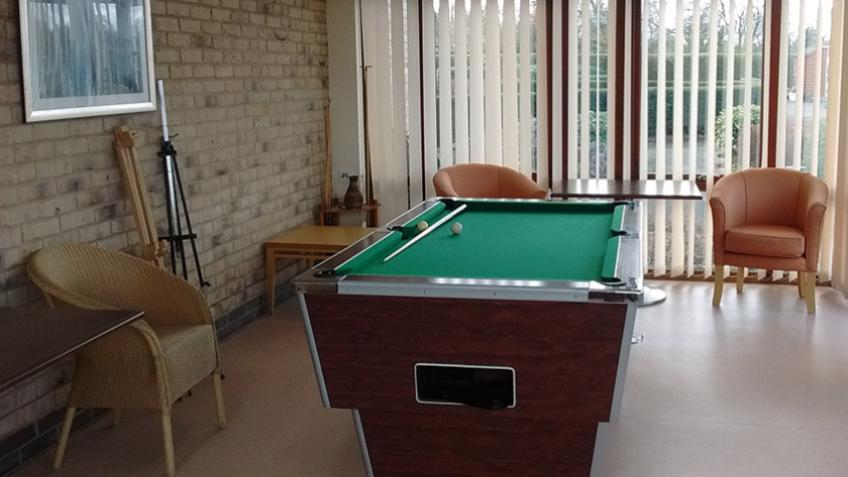 Exning Court games room