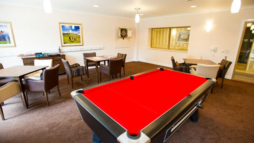 Greenwich Gardens games room