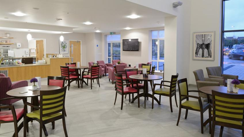 Lawley Bank Court Taste Restaurant and Dining Area