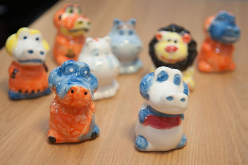 A picture of Retirement living residents get funky with pottery