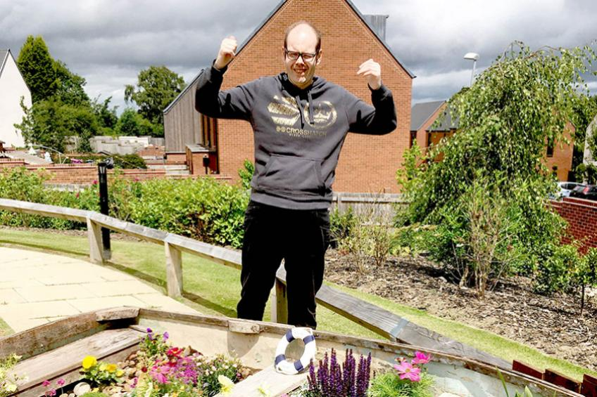 A picture of Twin services sow the seeds to success with nautical garden