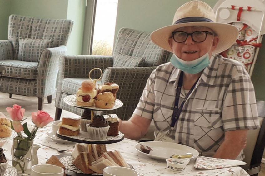A picture of Raising a cuppa for Afternoon Tea Week