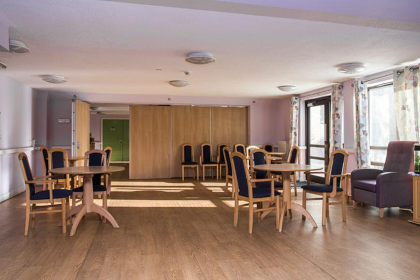The dining area at Coopers Court Retirement Living
