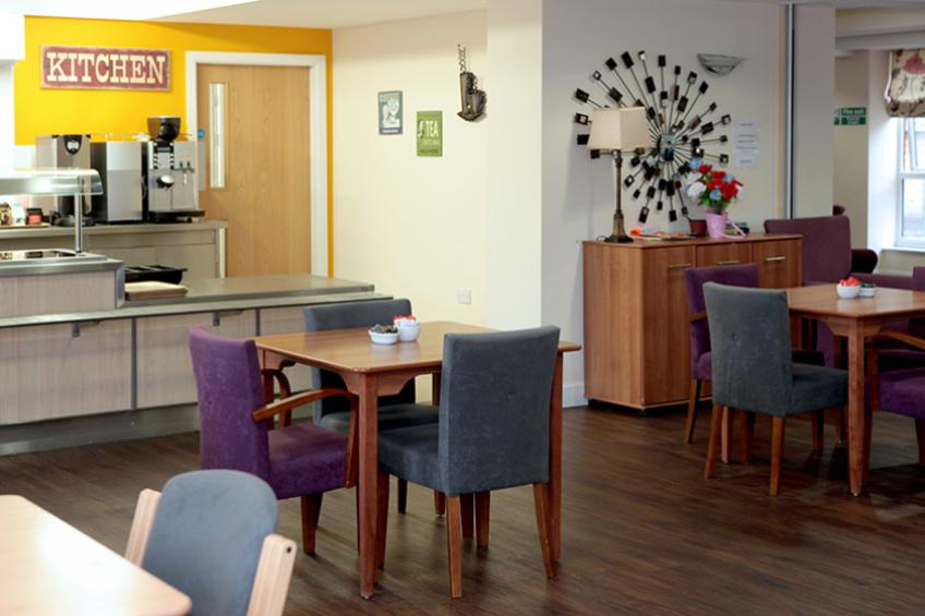 Bailey Court dining area