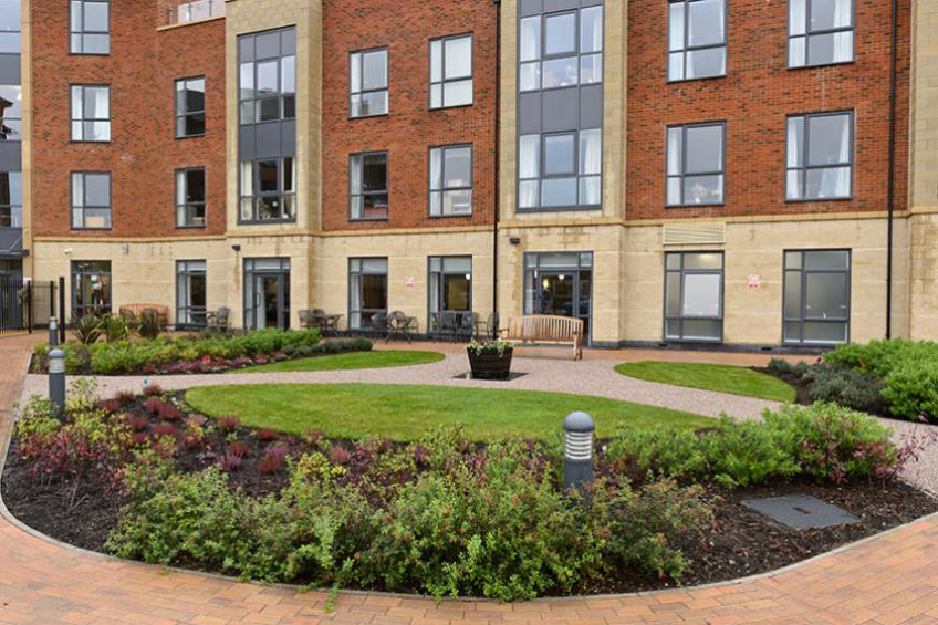 A picture of Telford retirement living community rated 'Good' by CQC