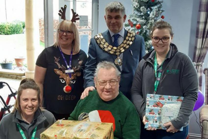 A picture of March retirement residents support local people in need