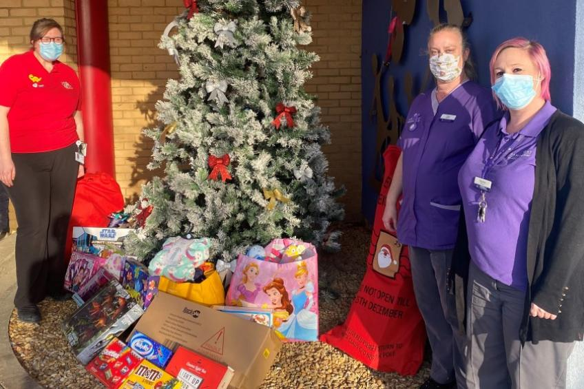 A picture of Jubilee Court spreads community Christmas cheer
