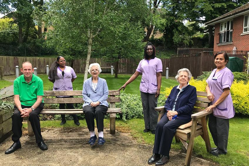 A picture of 'Good' CQC rating for East Barnet retirement living community