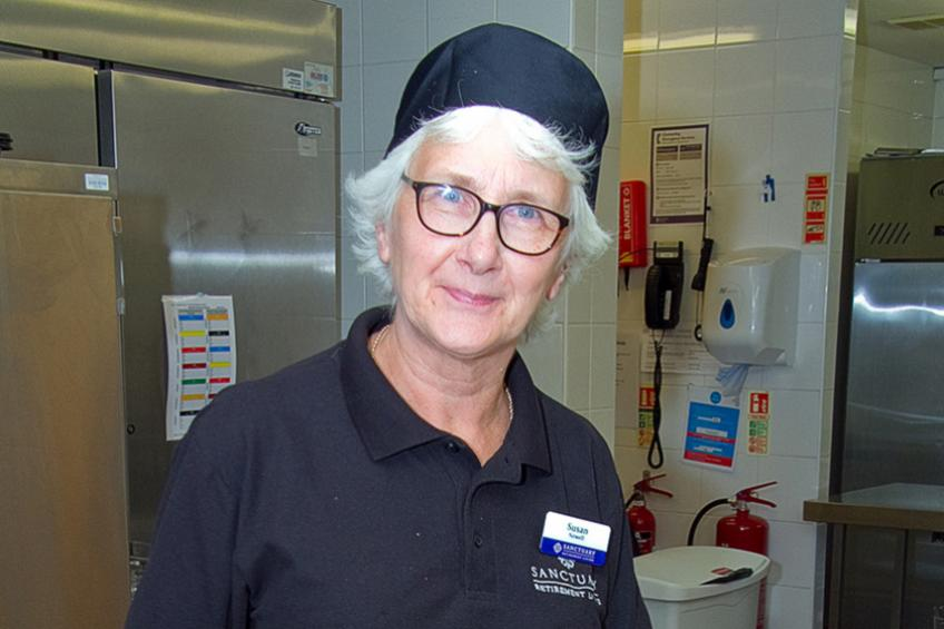 A picture of Sue Newell