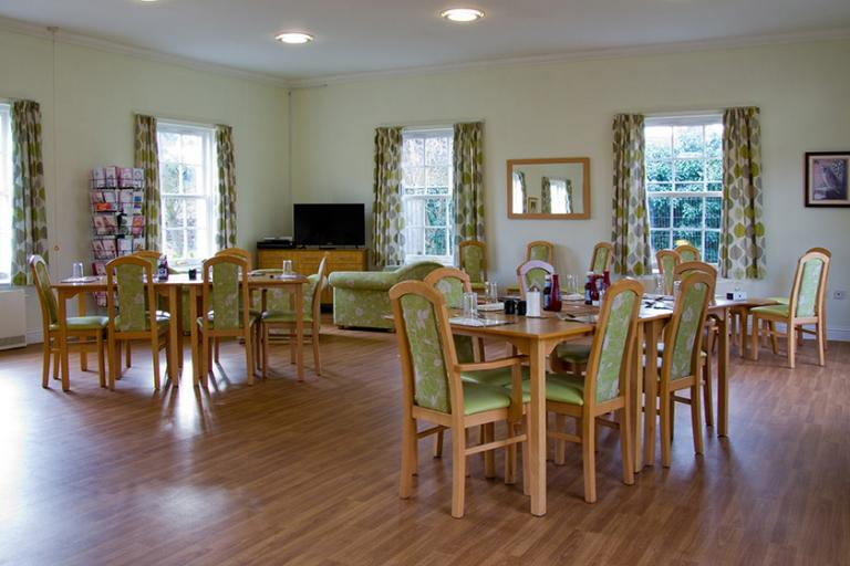 Dining area at Jubilee Court